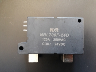 Latching relay 120A /250VAC cívka 24Vdc